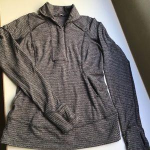 Lululemon 6 Think Fast 1/2 Zip Pullover